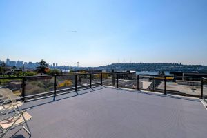 A-Seattle Urban Village- Orcas- Roof top view deck