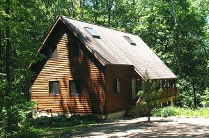Nature's Pointe Cabins in Ohio's Hocking Hills