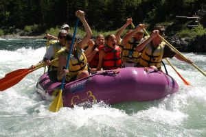 Small Boat Whitewater Rafting